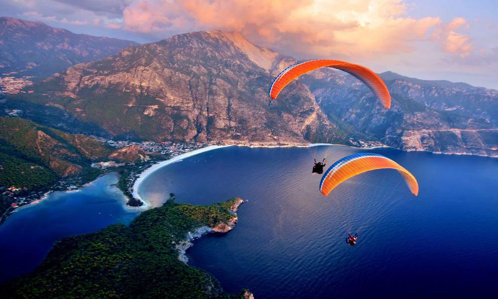 Oludeniz-Fethiye-Mugla-Türkei-Paragliding