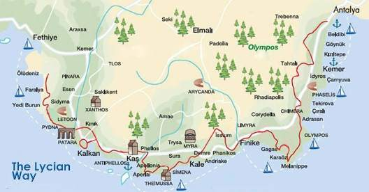 lycian_way_map